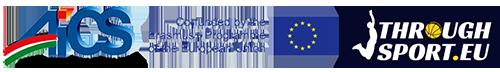 Logo AICS e Through Sport